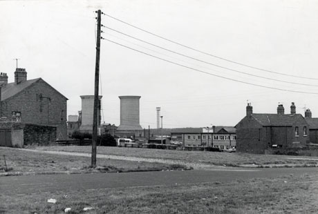 Houses and Cooling Towers