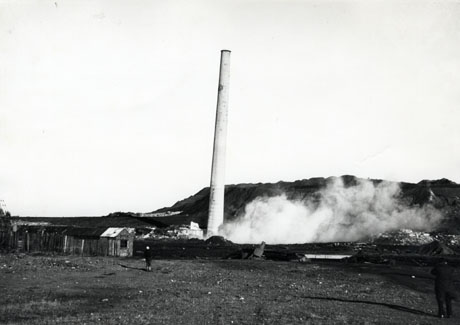 Demolition of a Chimney