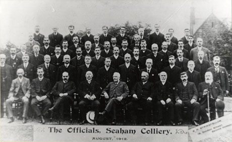 Officials Of Seaham Colliery