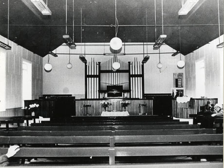 Interior Of Methodist Chapel